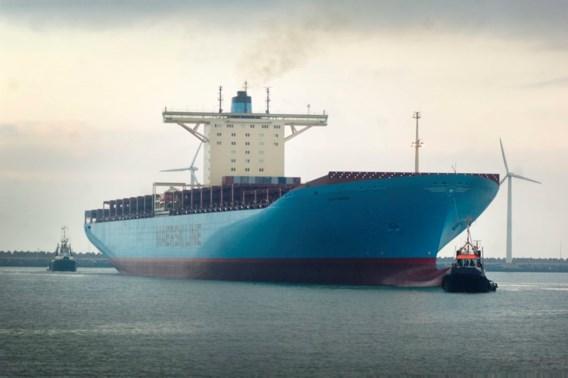 Reuzencontainerschip dan toch naar Antwerpse haven