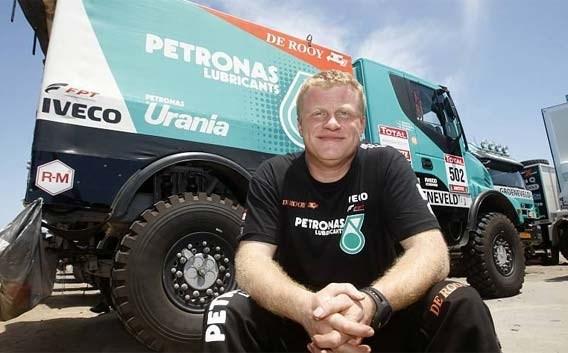 Belg Tom Colsoul wint tweede etappe in Dakar voor vrachtwagens