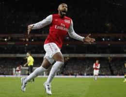 Invaller Henry meteen van goudwaarde voor Arsenal