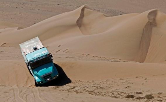 Tom Colsoul blijft op kop bij vrachtwagens: 'Tactisch gereden'
