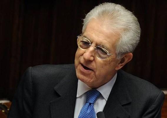 Monti krijgt schouderklopje van Obama