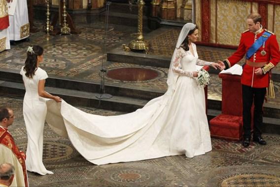 Wordt de trouwjurk van Kate Middleton 'Design of the Year'?