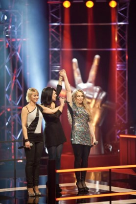 Claudia (ex-Sha-Na) ligt uit 'The Voice'