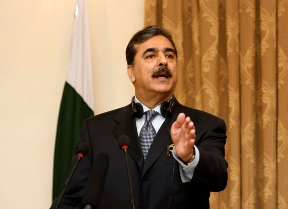 Pakistaanse premier aangeklaagd