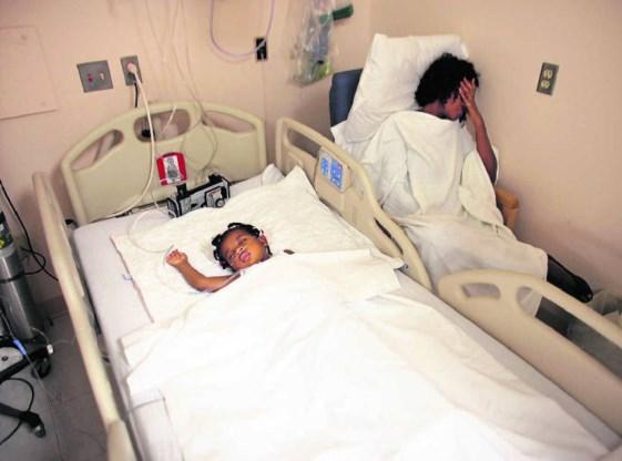 Chemotherapie voor een jong leukemiepatiëntje. ZUMA Press