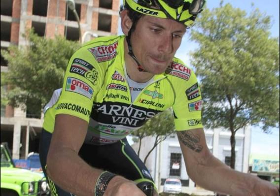 Filippo Pozzato is de snelste in Larciano