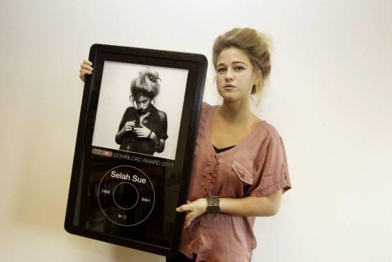 Selah Sue wint Ultratop Download Award