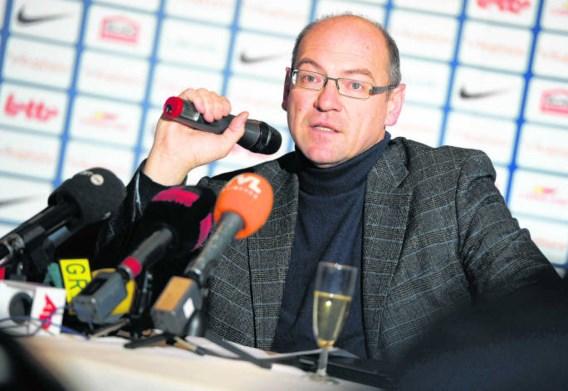 'Jongeren moeten bij ons kansen krijgen', zegt algemeen directeur Dirk Degraen. 'Net daarom transfereren we zo weinig.'Yorick Jansens/belga