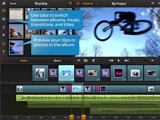 Avid komt met videomontage op iPad