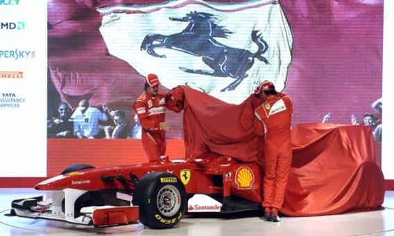 Ferrari annuleert voorstelling nieuwe bolide door hevige sneeuwval