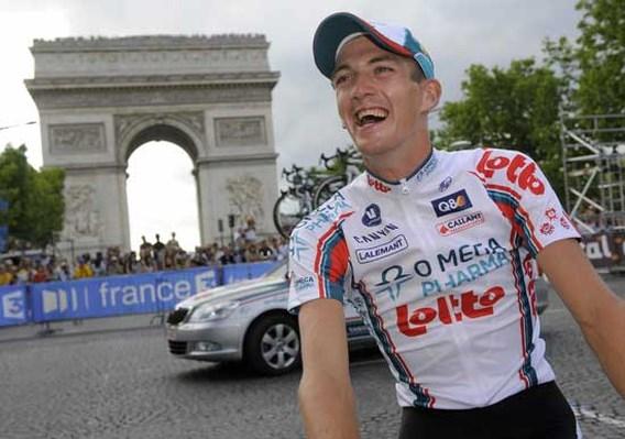 Jurgen Van den Broeck wordt vierde in Tour de France 2010