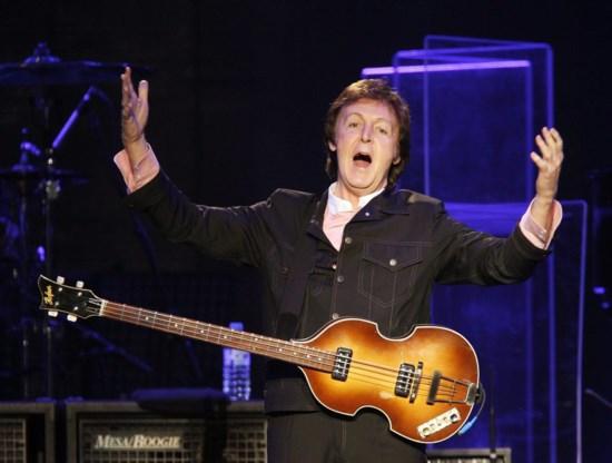Paul McCartney op 28 maart in het Sportpaleis