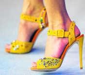 De voeten van Diane Kruger. afp