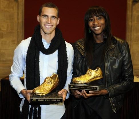 Kevin Borlée en Elodie Ouedraogo winnen de Gouden Spike 2011