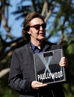 Paul McCartney krijgt als laatste Beatle ster op Hollywood Walk of Fame