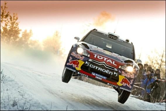 Fin Hirvonen leidt in rally van Zweden, Neuville is 18de