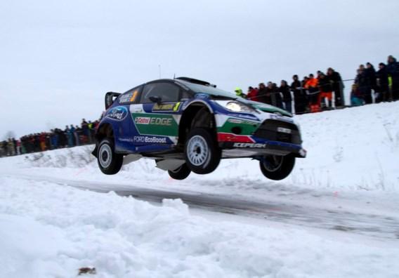 Fin Matti Latvala leider na eerste dag in Rally van Zweden, Neuville 15e