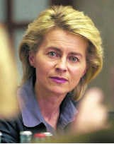 Ursula von der Leyen. afp