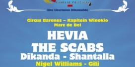 The Scabs, Nigel Williams en Buurman op affiche Ten Vrede