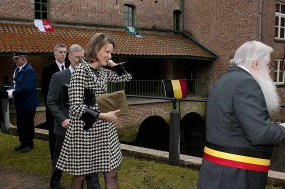 Prins Filip en Mathilde vieren Mercator
