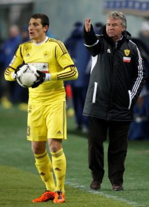 Guus Hiddink is na één zege met Anzhi al 50.000 euro rijker