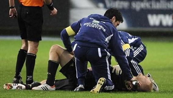 Olivier Deschacht: 'Drie weken buiten strijd, hopelijk fit voor de Play-Offs'
