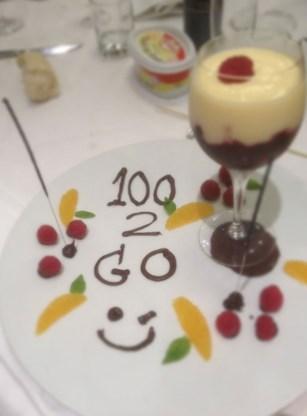 Tom Boonen kreeg een mooi dessert na zijn honderdste zege