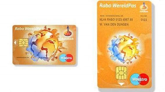 Rabobank lanceert verticale bankkaart
