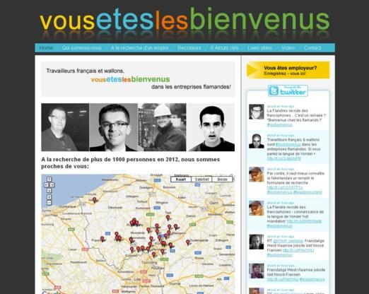 Gespecialiseerde website wil Franse en Waalse werknemers naar Vlaanderen lokken