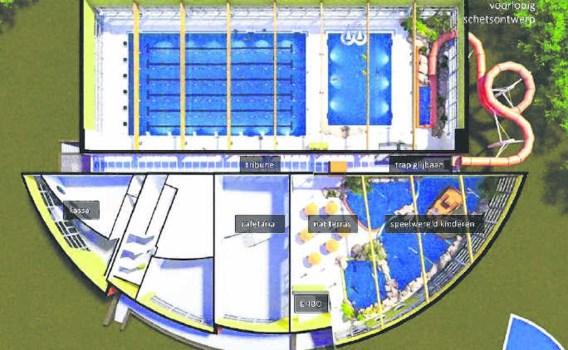 Het nieuwe Zwembad Stadspark zal een stuk energiezuiniger zijn en minder inzet van personeel vergen. essa