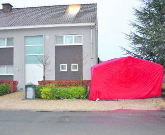 In deze woning in Waregem speelde het familiedrama zich af.wbk