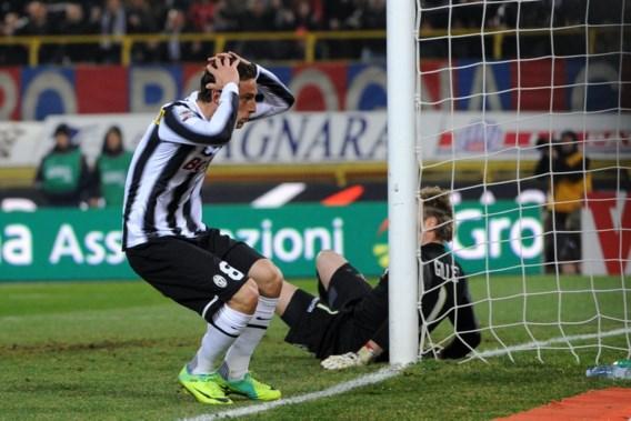 Juventus geraakt niet voorbij Gillet en Mudingayi en moet Milan laten gaan