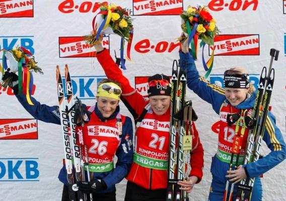 Noorse Tora Berger pakt wereldtitel biatlon op 15 km