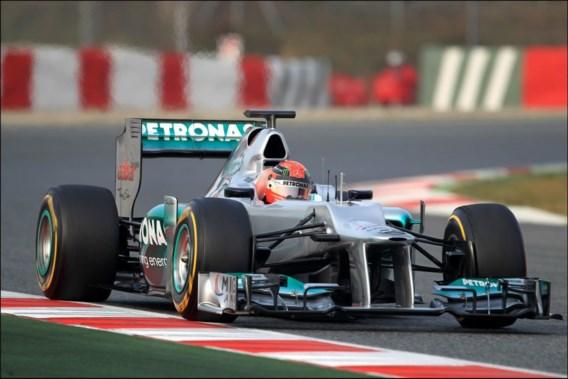 Michael Schumacher: 'We verwachten niet te winnen in Melbourne'