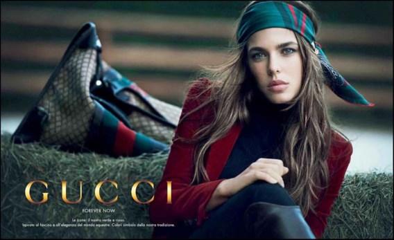 De eerste beelden van Charlotte Casiraghi voor Gucci