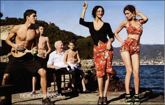 FOTOSPECIAL. 47-jarige Monica Bellucci is ster in nieuwe campagne Dolce & Gabbana