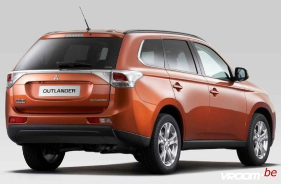 Mitsubishi Outlander: gladde SUV