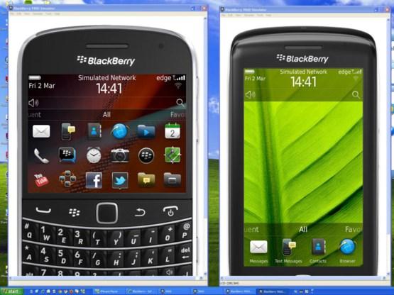Gratis proefrit met een BlackBerry naar keuze