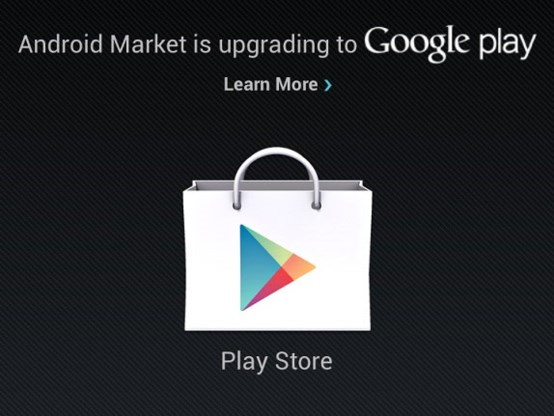 Android Market wordt Google Play Store