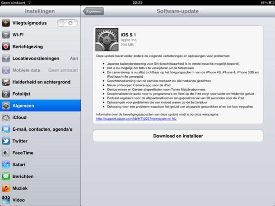 Ook update voor iOS en nieuwe iPhoto-app