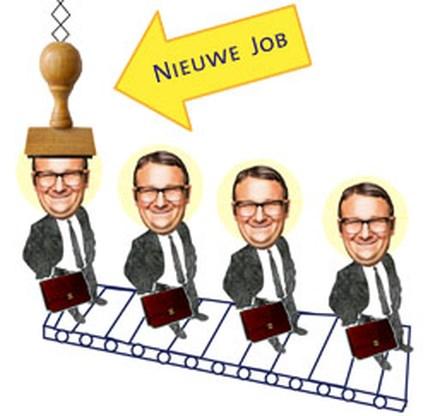 De Belgische arbeidsmarkt: jobs komen en gaan
