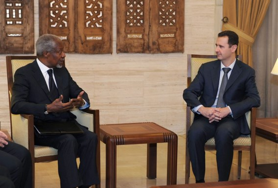 Syrië akkoord met vredesplan Kofi Annan