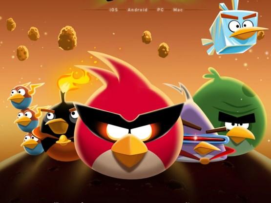 Recordaantal downloads voor Angry Birds Space