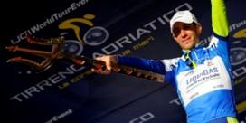 Vincenzo Nibali rijdt de olympische wegrit