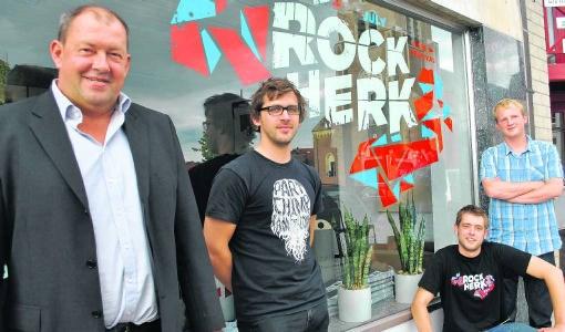 De organisatoren van Rock Herk maakten ook de eerste namen bekend. ppg