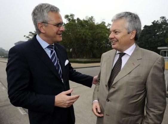 Peeters verdedigt zich tegen kritiek Reynders