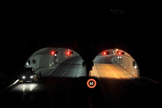 Tunnel wordt als veilig beschouwd