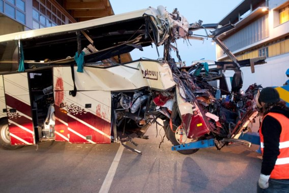 Een van zwaarste busrampen sinds 2000