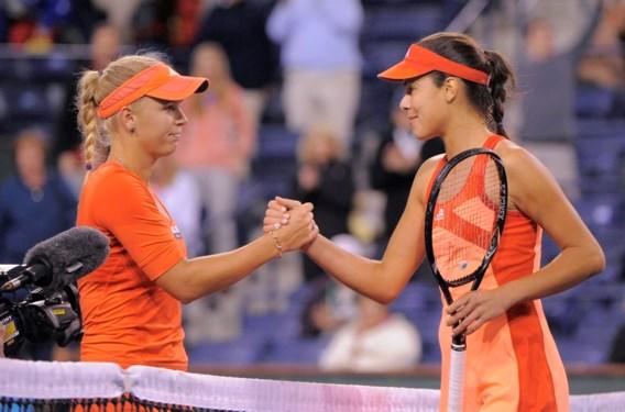 Ivanovic kegelt Wozniacki uit Indian Wells