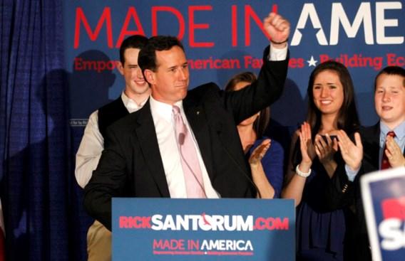 Santorum wint voorverkiezingen Alabama en Mississipi
